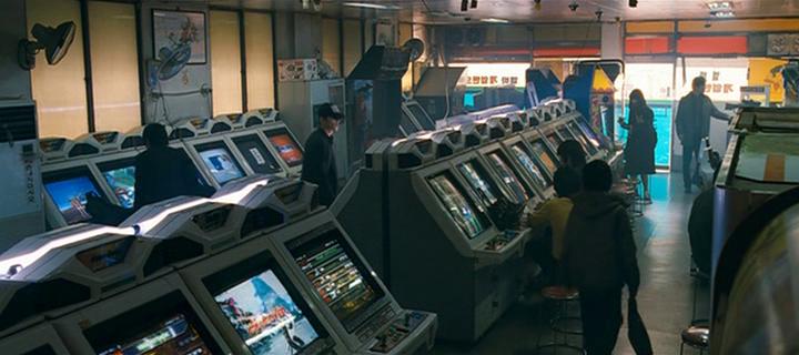 Cine - El eje de acción en las esquinas