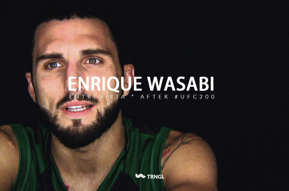 """Enrique Martín """"Wasabi"""" - Entrevista UFC 200"""