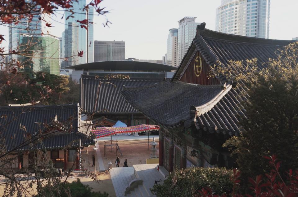 Bongeunsa 봉은사 – Un templo en el corazón de Gangnam